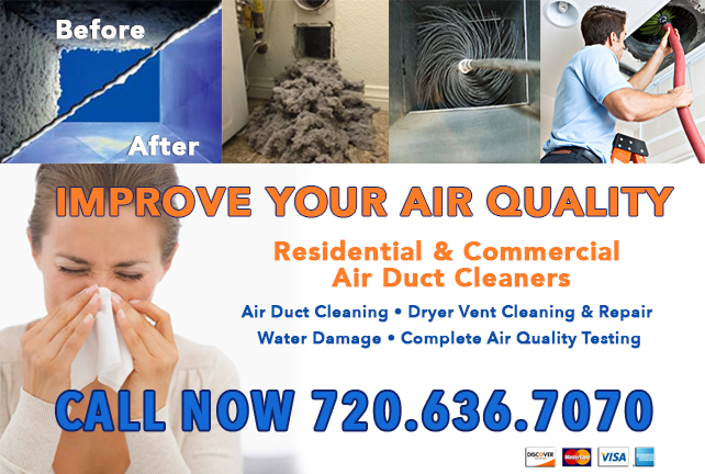 Colorado Air Quality Testing and Cleaning